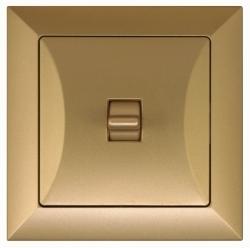 vypínač Opál -BIS zlatý