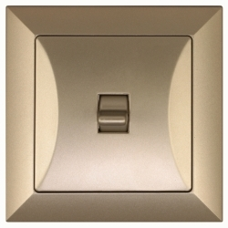 vypínač Opál -BIS pískový