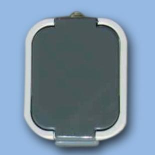 """Tlačítkový ovládač """"světlo"""" IP44 na omítku WNT-6B"""