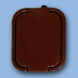 Zásuvka dvojitá na omítku GNT-6B