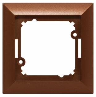 jednoduchý rámeček měděný