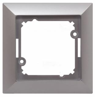 jednoduchý rámeček stříbrný