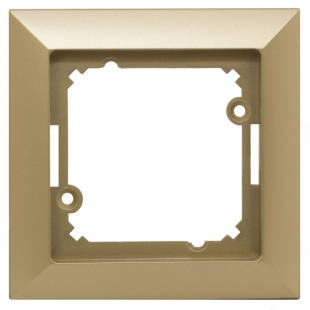 jednoduchý rámeček zlatý