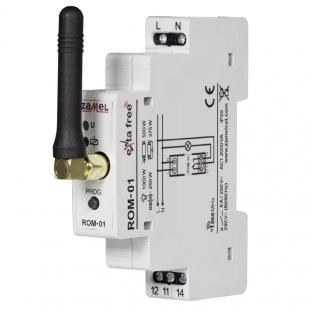 Rádiový příjímač jednokanálový modulový ROM-01
