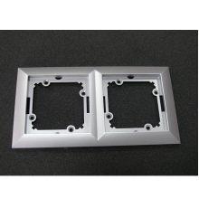dvojnásobný rámeček stříbrný