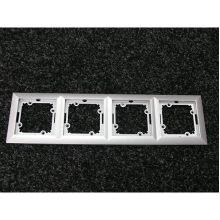 rámeček čtyřnásobný stříbro real