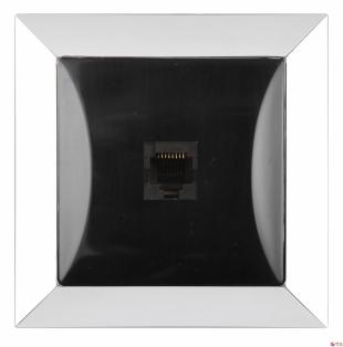 DAtová zásuvka 4 pin pro sérii Opál chrom