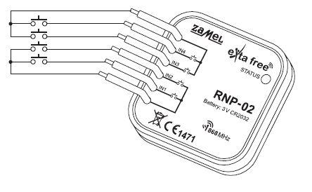 schéma zapojení rádiového přijímače RNP-02