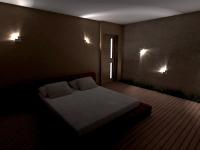 realizace osvětlení schodiště LED svítidly LEDIX