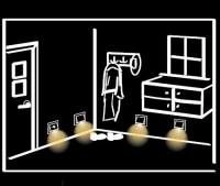 Využití svítidel s pohybovým senzorem