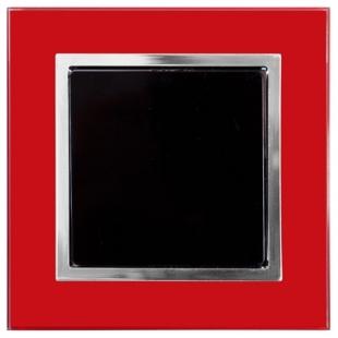 Jednopólový vypínač - sklo