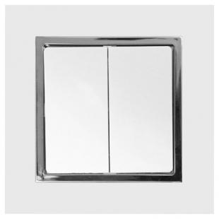 Dvojitý střídavý přepínač - sklo