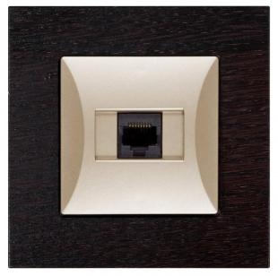 Zásuvka počítačová 8 pin