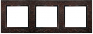 Rámeček 3-násobný - dřevo