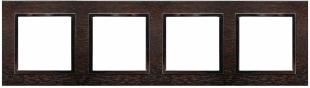 Rámeček 4-násobný - dřevo