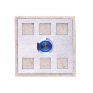 Zvonkové tlačítko - mramor