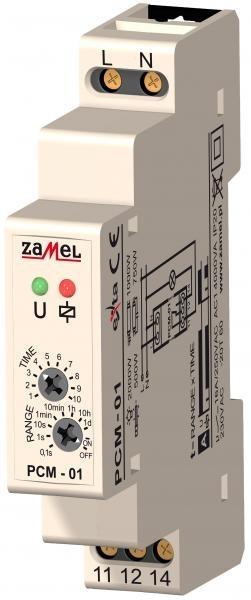 Časové relé PCM-01
