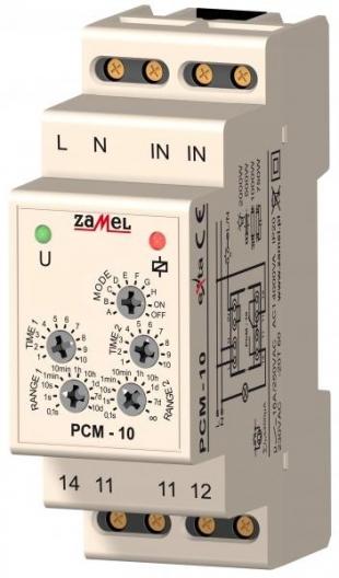 Časové relé PCM-10/24V