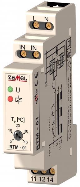 Teplotní regulátor RTM-01