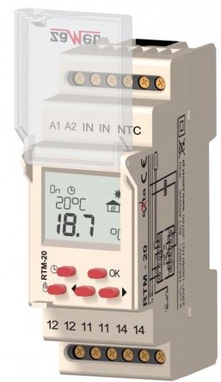 Teplotní regulátor RTM-20