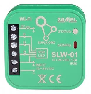Wi-Fi ovládač RGB LED SLW-01