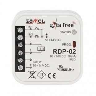 Rádiový ovládač jednobarevný RDP-02..