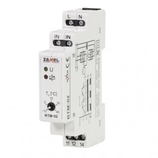 Teplotní regulátor RTM-02