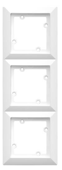 rámeček trojnásobný bílý