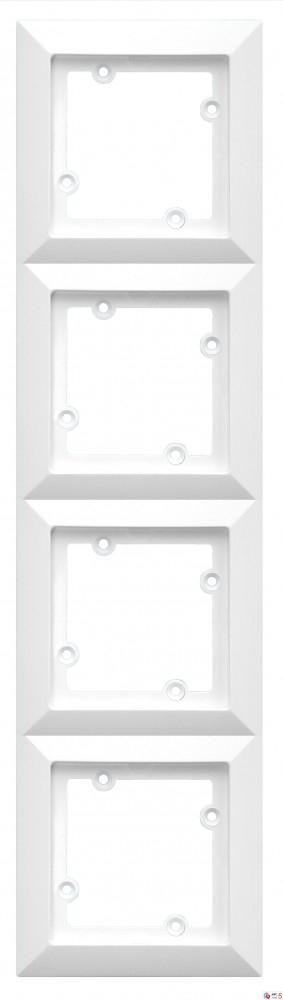 rámeček čtyřnásobný Opál bílý