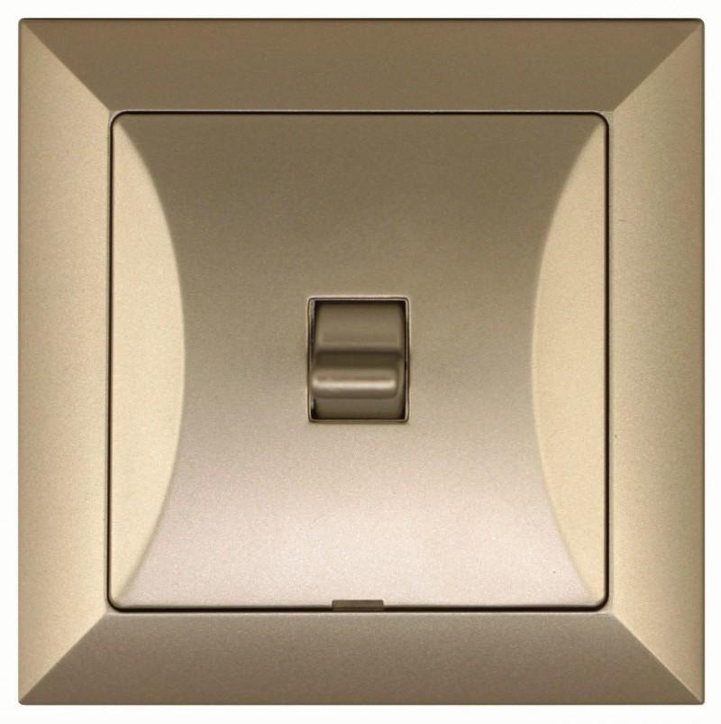 Tlačítkový vypínač - zvonek