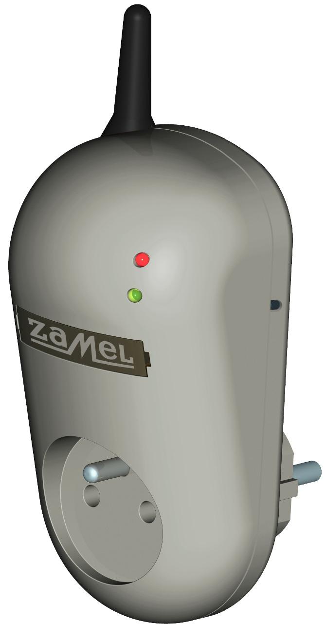Dálkově ovládaná  siťová zásuvka GSM