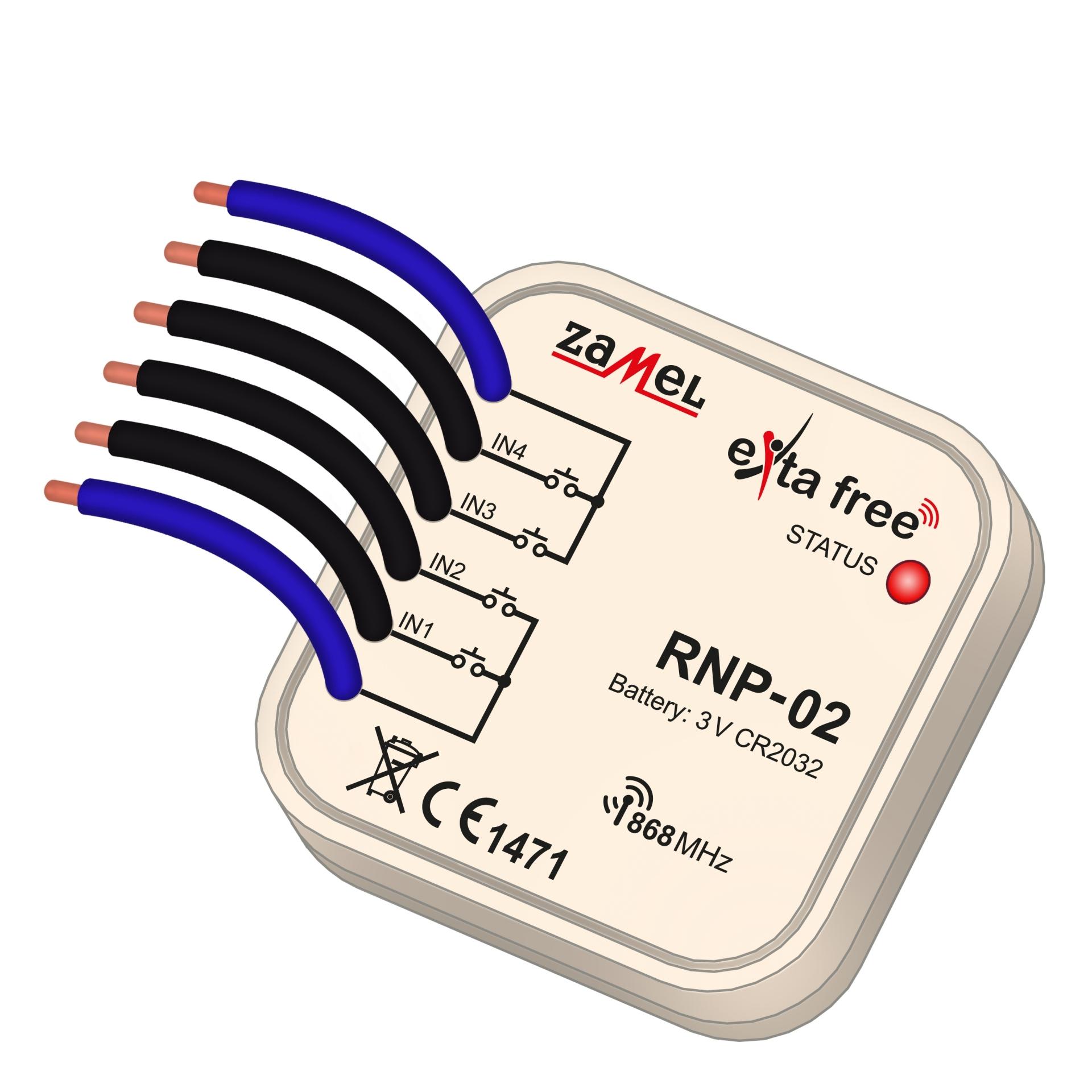 rádiový vysílač krabicový