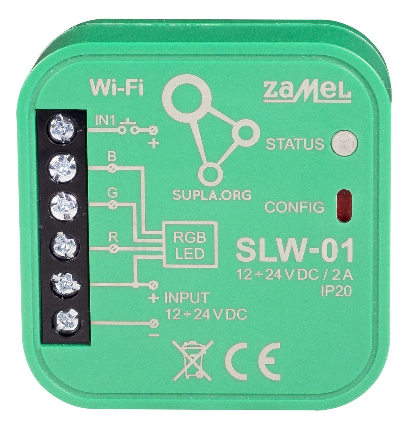 ovládání SLW-01