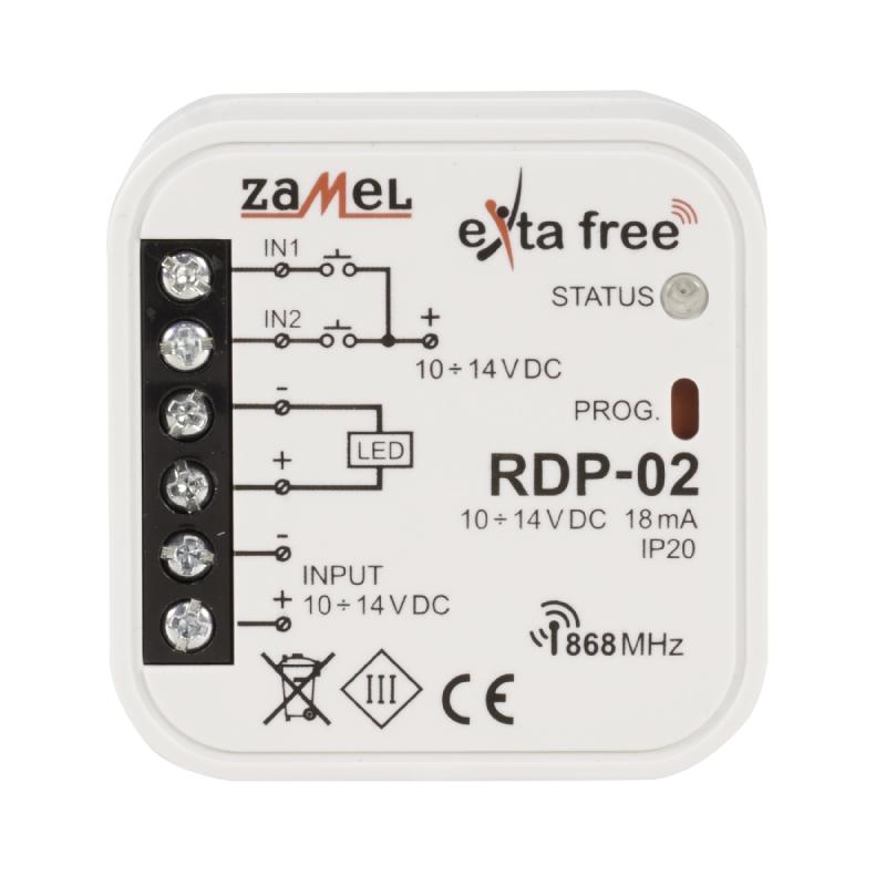 Rádiový ovládač jednobarevný RDP-02