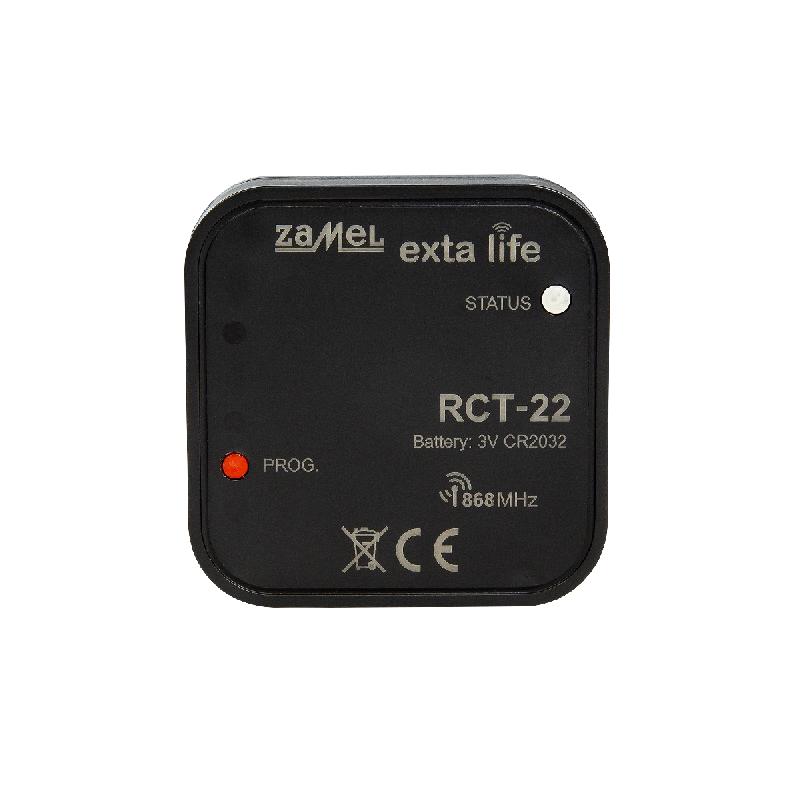 Teplotní bezdrátové rádiové čidlo RCT-22