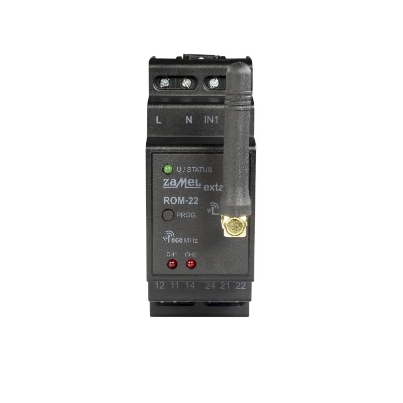 Rádiový přijímač 2-kanálový modulový ROM-22