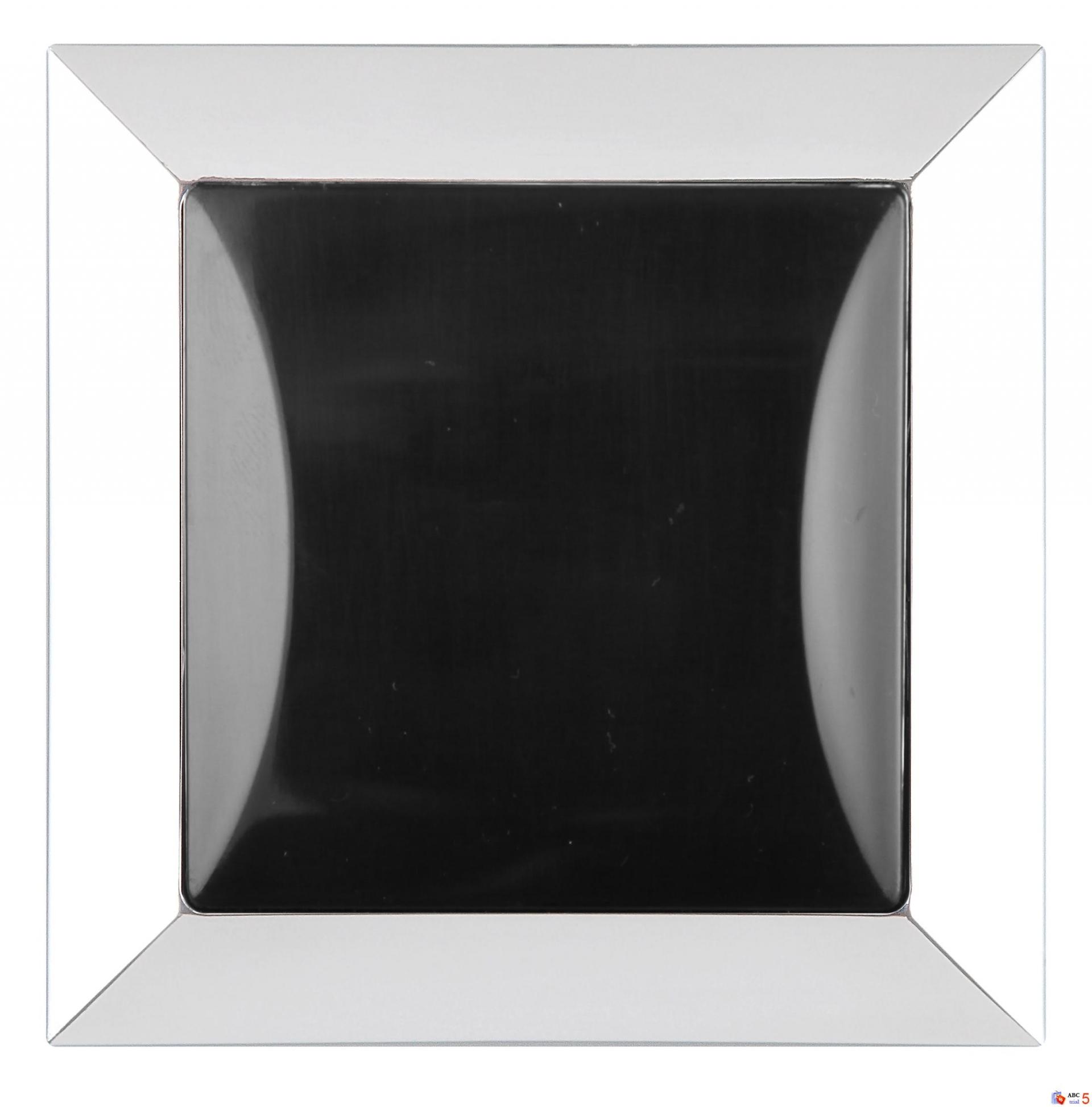 Tlačítkový ovládač  světlo chrom + černá