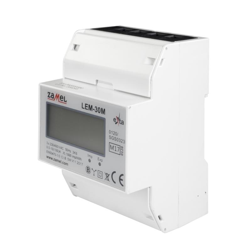 měřič energie s certifikací MID